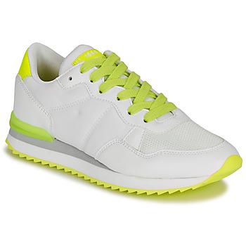 Schuhe Damen Sneaker Low André HISAYO Weiß