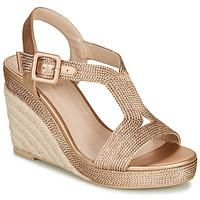 Schuhe Damen Sandalen / Sandaletten André PHOEBE Golden