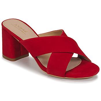 Schuhe Damen Sandalen / Sandaletten André JULITTA Rot