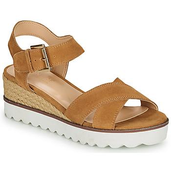 Chaussures Femme Sandales et Nu-pieds André EMILIA Camel