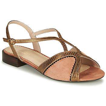 Chaussures Femme Sandales et Nu-pieds André LA TRAPEZISTE Rose