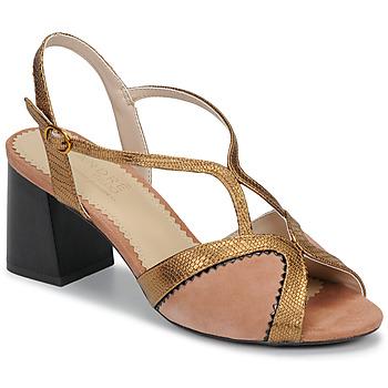 Chaussures Femme Sandales et Nu-pieds André LA MAGICIENNE Rose