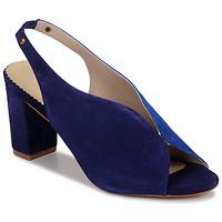 Chaussures Femme Sandales et Nu-pieds André L ILLUSIONISTE Bleu