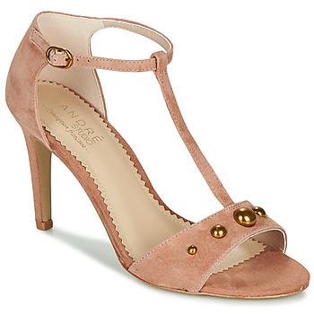 Chaussures Femme Sandales et Nu-pieds André LA DOMPTEUSE Rose