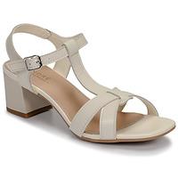 Schuhe Damen Sandalen / Sandaletten André JOSEPHINE Weiß