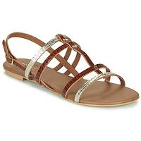 Chaussures Femme Sandales et Nu-pieds André MANDIE Camel