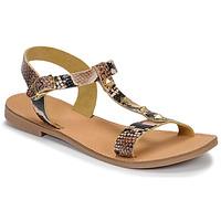 Chaussures Femme Sandales et Nu-pieds André DOMINOU Beige