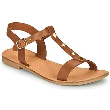 Chaussures Femme Sandales et Nu-pieds André DOMINOU Camel