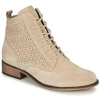 Chaussures Femme Boots André GODILLINE Beige