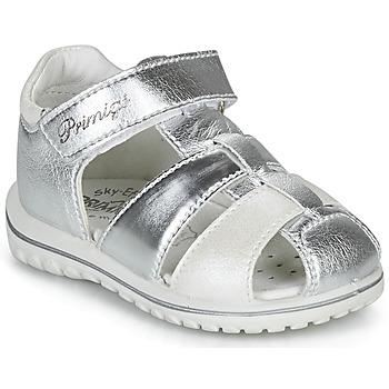 Chaussures Fille Sandales et Nu-pieds Primigi 5365555 Argenté