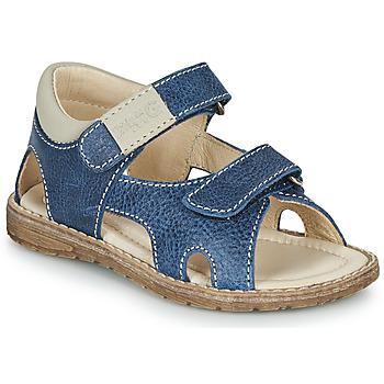 Chaussures Garçon Sandales et Nu-pieds Primigi 5410222 Bleu / Gris