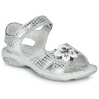 Chaussures Fille Sandales et Nu-pieds Primigi 5383533 Argenté