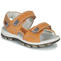 Chaussures Garçon Sandales et Nu-pieds Primigi 5391133 Orange