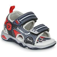 Chaussures Garçon Sandales et Nu-pieds Primigi 5450544 Marine / Rouge