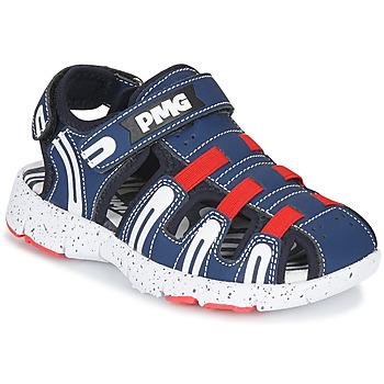 Chaussures Garçon Sandales sport Primigi 5461611 Marine / Rouge