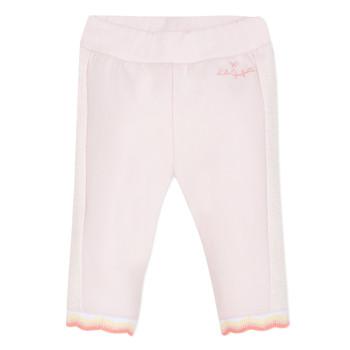 Vêtements Fille Pantalons 5 poches Lili Gaufrette NOLIS Rose