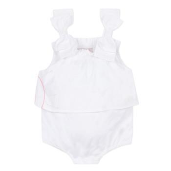 Vêtements Fille Combinaisons / Salopettes Lili Gaufrette NOLENI Blanc