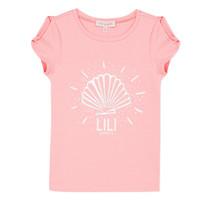 Abbigliamento Bambina T-shirt maniche corte Lili Gaufrette KATIA
