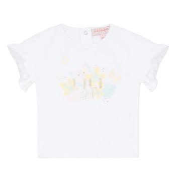 Vêtements Fille T-shirts manches courtes Lili Gaufrette KERINI Blanc