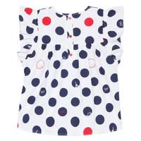 Vêtements Fille Tops / Blouses Lili Gaufrette POUSSI Blanc