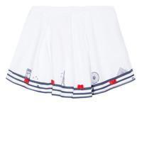 Vêtements Fille Jupes Lili Gaufrette MAYA Blanc