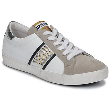 Chaussures Femme Baskets basses Meline GARILOU Blanc/beige