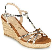 Chaussures Femme Sandales et Nu-pieds Unisa LLINAR Python