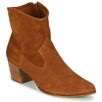 Chaussures Femme Bottines Unisa GALVEZ Camel