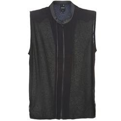 Kleidung Damen Tops / Blusen G-Star Raw 5620 CUSTOM Schwarz