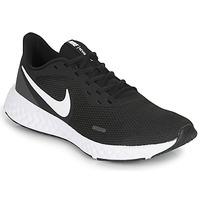 Chaussures Homme Running / trail Nike REVOLUTION 5 Noir / Blanc