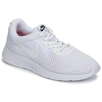 Chaussures Femme Baskets basses Nike TANJUN Blanc