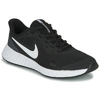 Chaussures Enfant Multisport Nike REVOLUTION 5 GS Noir / Blanc