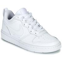 Chaussures Enfant Baskets basses Nike COURT BOROUGH LOW 2 GS Blanc