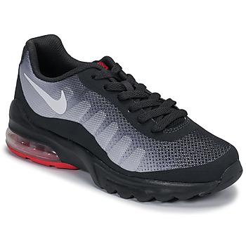 Chaussures Enfant Baskets basses Nike AIR MAX INVIGOR GS Noir / Rouge