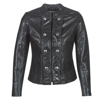 Vêtements Femme Vestes en cuir / synthétiques Naf Naf CMILI Noir