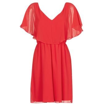 Vêtements Femme Robes courtes Naf Naf LAZALE Rouge