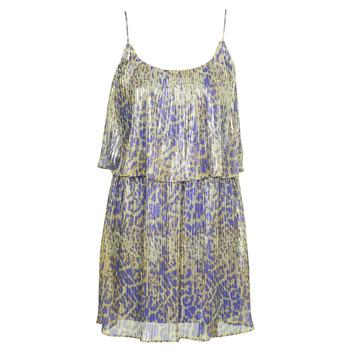 Kleidung Damen Kurze Kleider Marciano LIQUID LEOPARD DRESS Bunt