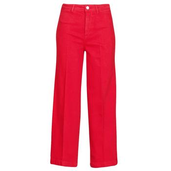 Kleidung Damen Bootcut Jeans Tommy Hilfiger BELL BOTTOM HW CCLR Rot