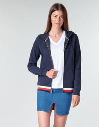 Kleidung Damen Sweatshirts Tommy Hilfiger HERITAGE ZIP THROUGH HOODIE