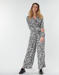Vêtements Femme Combinaisons / Salopettes Only ONLOPHELIA Noir / Blanc