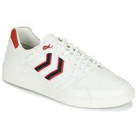Chaussures Homme Baskets basses Hummel HB TEAM CREST Blanc
