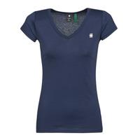Vêtements Femme T-shirts manches courtes G-Star Raw EYBEN SLIM V T WMN SS sartho blue