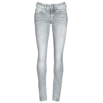 Vêtements Femme Jeans skinny G-Star Raw LYNN MID SKINNY WMN faded industrial grey