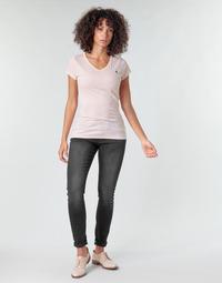 Vêtements Femme Jeans skinny G-Star Raw LYNN MID SKINNY WMN dusty grey