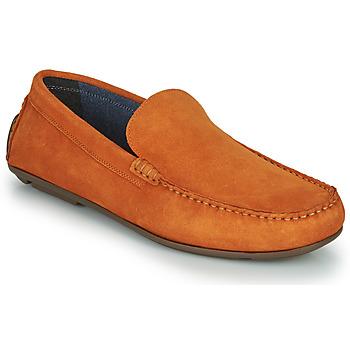 Chaussures Homme Mocassins André BIOUTY ORANGE