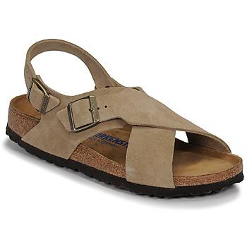 Chaussures Femme Sandales et Nu-pieds Birkenstock TULUM SFB LEATHER Taupe
