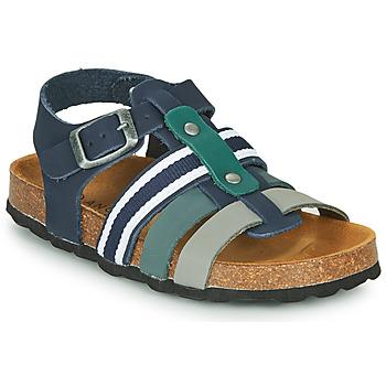 Chaussures Garçon Sandales et Nu-pieds André TRISTAN Marine