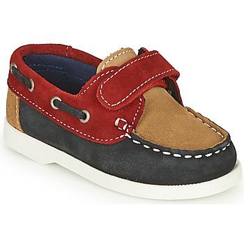 Chaussures Garçon Derbies André MALOT Bleu