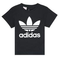 Vêtements Enfant T-shirts manches courtes adidas Originals LEILA Noir