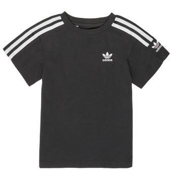 Vêtements Garçon T-shirts manches courtes adidas Originals MINACHE Noir